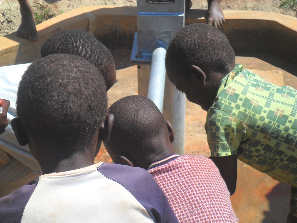 The Water Project : water-flowing-hofaland-primary-3
