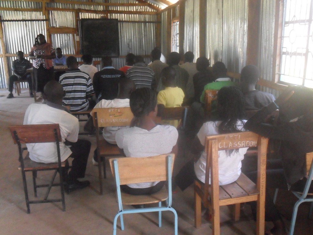 The Water Project : community-education-bushiangala-institute-4