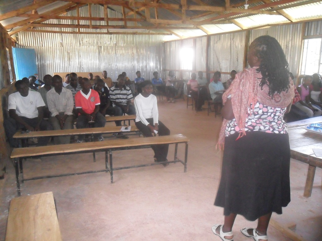 The Water Project : community-education-bushiangala-institute-3