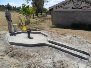 The Water Project : constructed-pad-magale-secondary