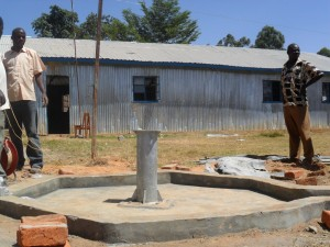 The Water Project : constructed-pad-of-bushiangala-technical-institue