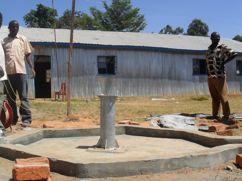 The Water Project : constructed-pad-of-bushiangala-technical-institue-2