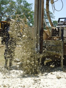 The Water Project : drilling-magale-p-a-g-secondary-school-1
