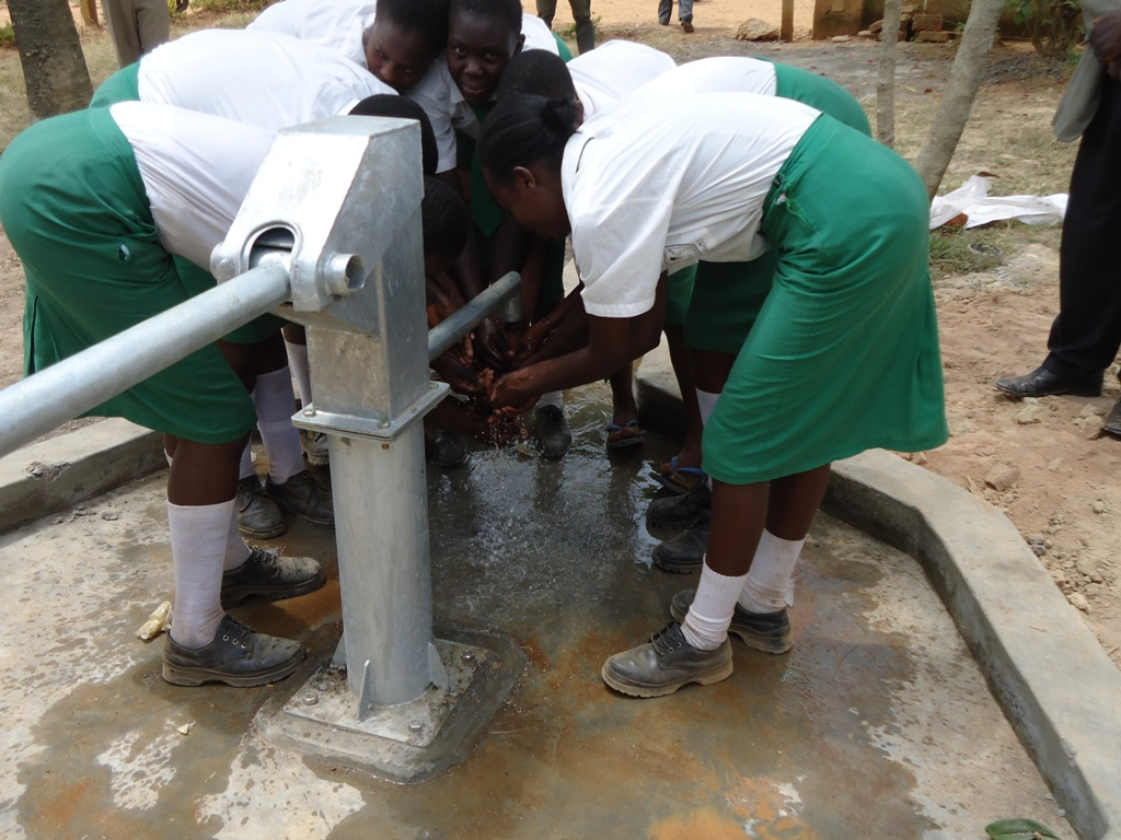 The Water Project : happy-students-igunga-sec-school-3