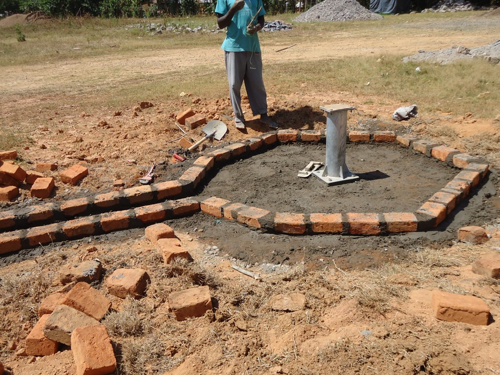 The Water Project : igunga-pad-construction-1-2