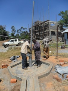 The Water Project : pump-installation-bushiangala-technical-institue