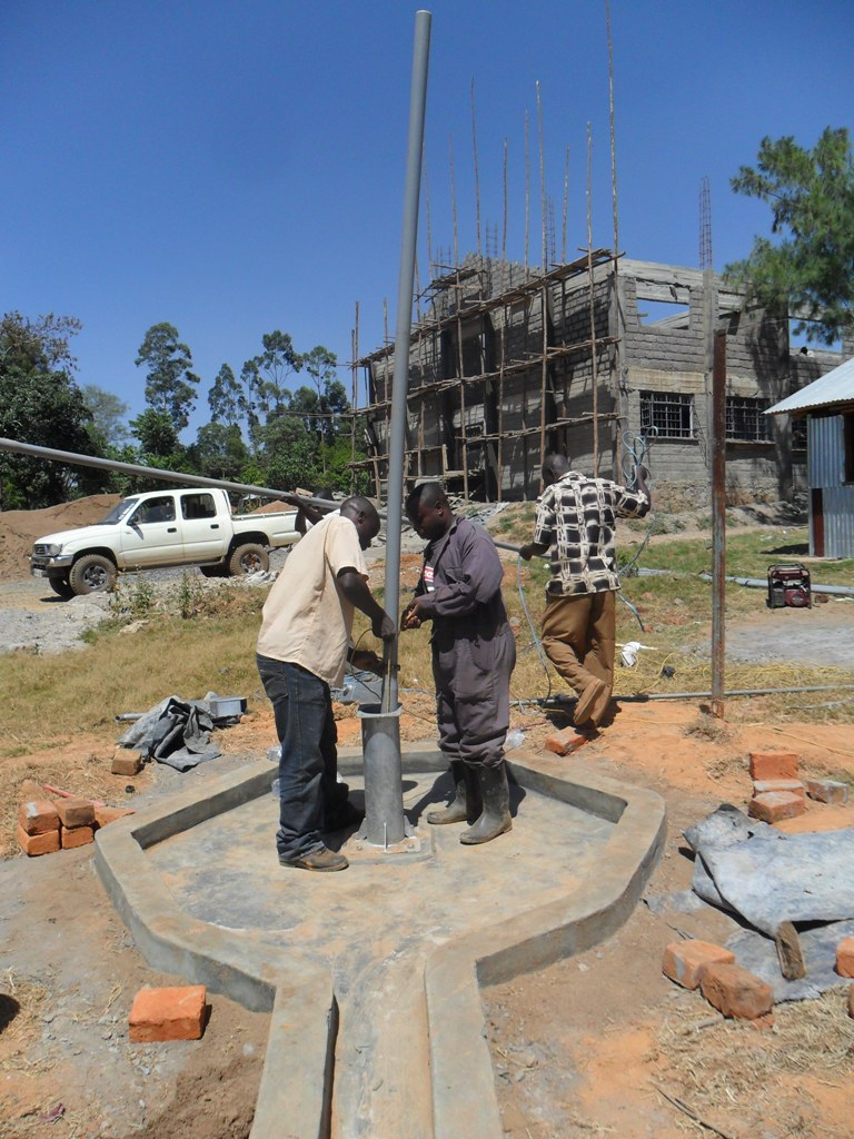 The Water Project : pump-installation-bushiangala-technical-institue-2