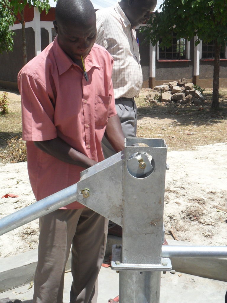 The Water Project : pump-installation-lwanda-k-secondary-school-2