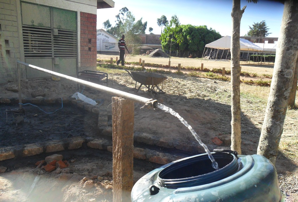 The Water Project : test-pumping-igunga-secondary-school-2