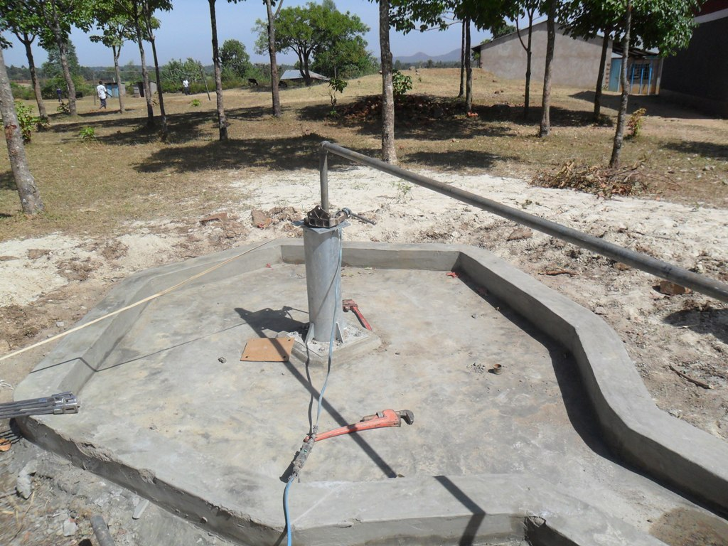 The Water Project : test-pumping-lwanda-k-sec-school-2
