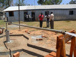 The Water Project : testpumping-bushianagala-technical-institute