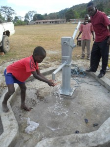 The Water Project : water-flowing-magale-secondary-1