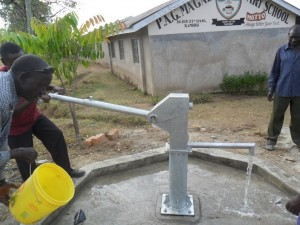 The Water Project : water-flowing-magale-secondary-2