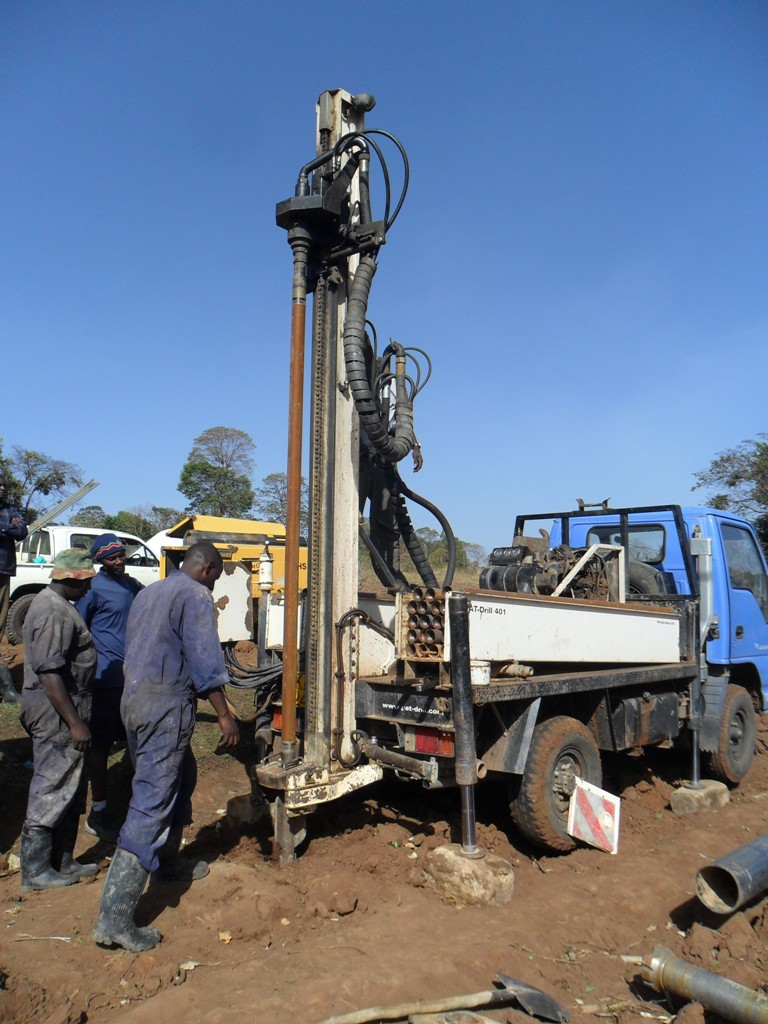 The Water Project : drilling-beek-women-group-1
