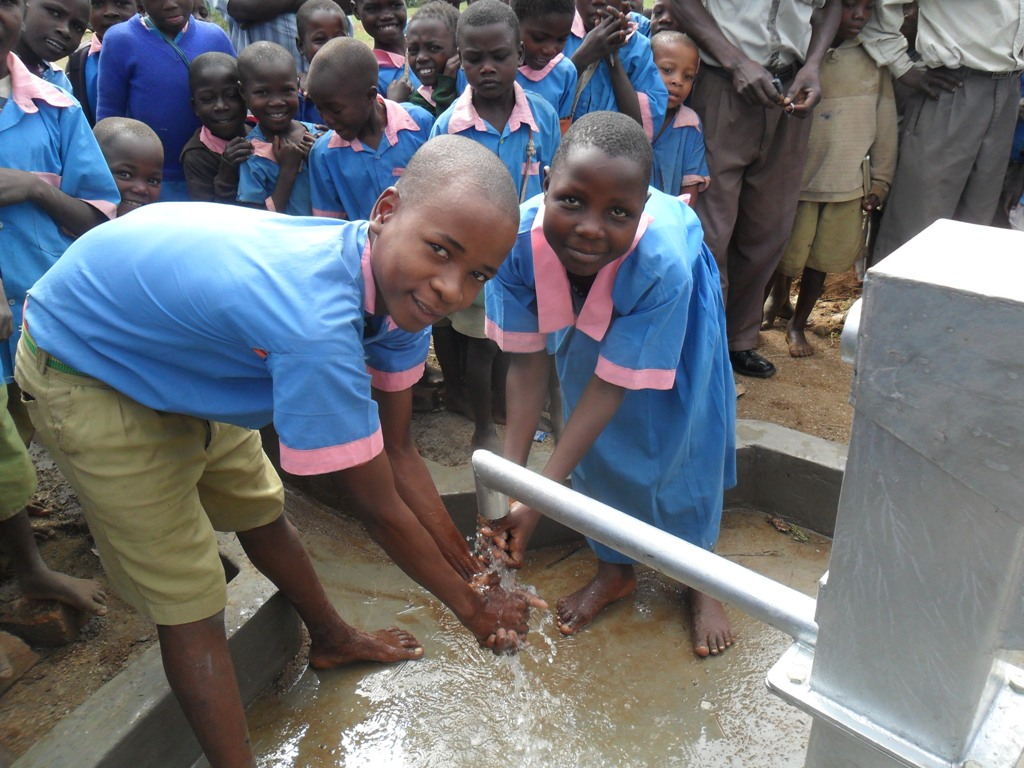 The Water Project : handing-over-mutono-primary