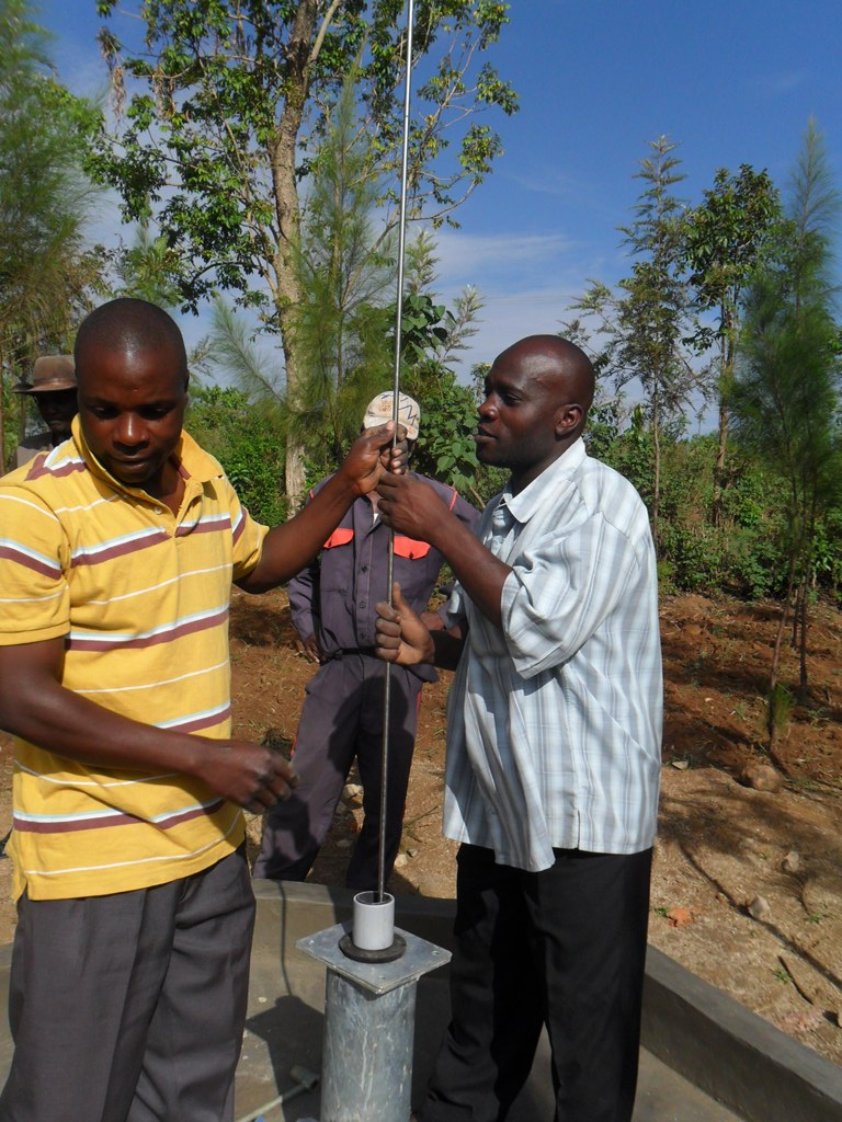 The Water Project : pump-installation-mutono-primary-1-2