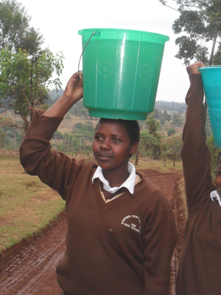 The Water Project : a-girl-from-kositany-high-school-3
