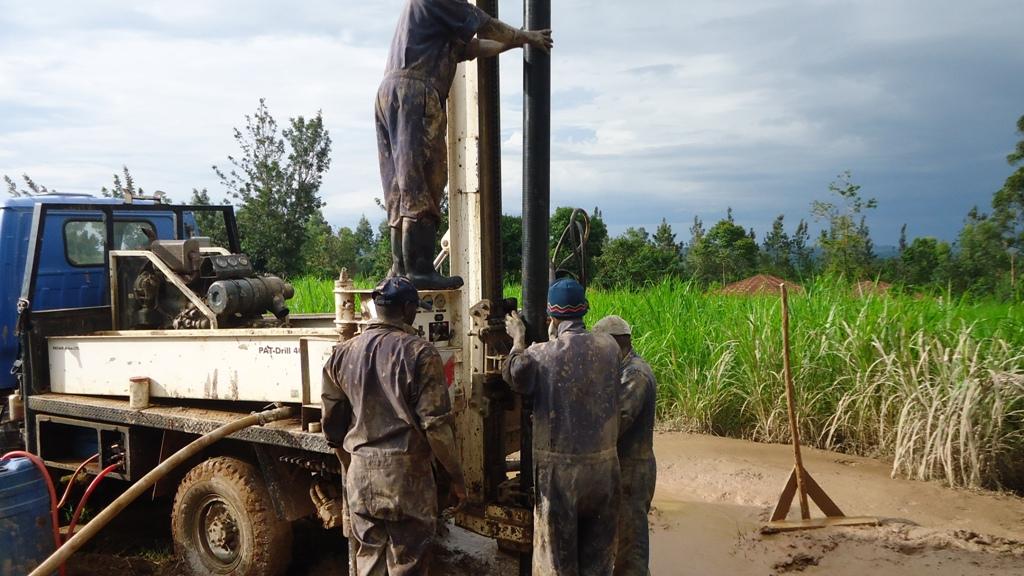 The Water Project : casing-eshibinga-community-2
