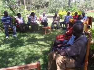 The Water Project : community-education-eshibinga-community-2