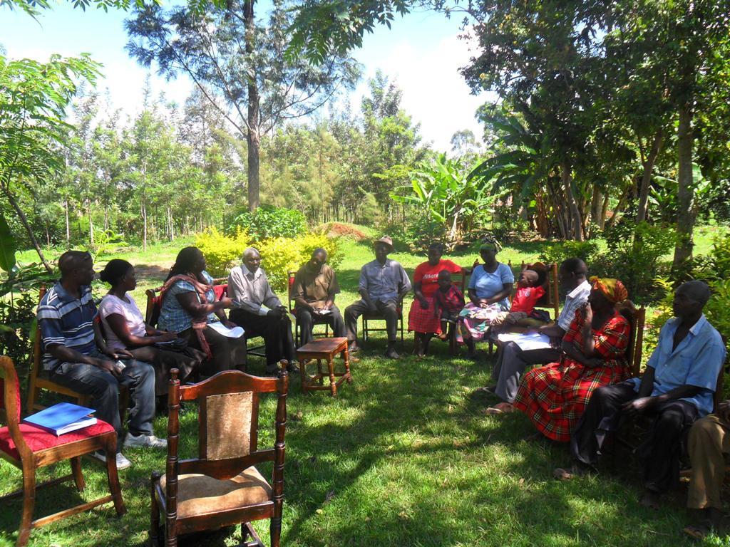 The Water Project : community-education-eshibinga-community-4