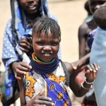 A young Turkana girl in Kakiring