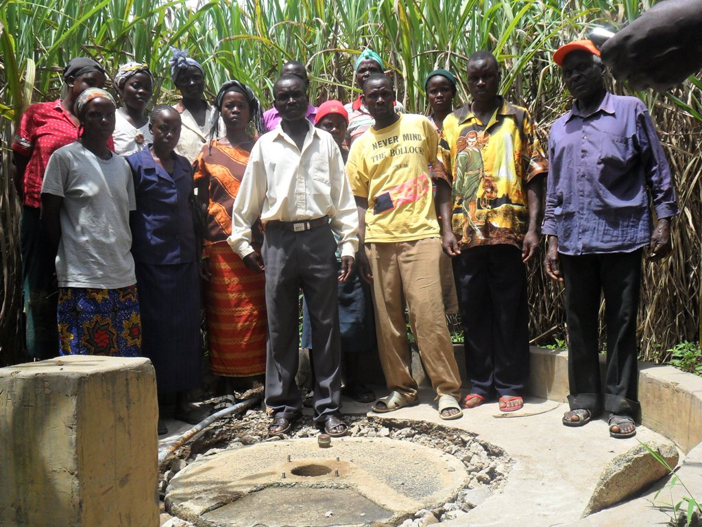 The Water Project : shihuna-community-rehab-well-2