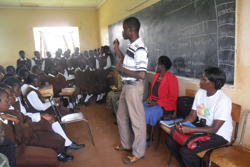 The Water Project : steven-kositany-girls-community-education-2