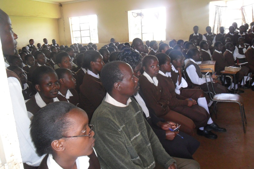 The Water Project : steven-kositany-sec-school-community-education-2