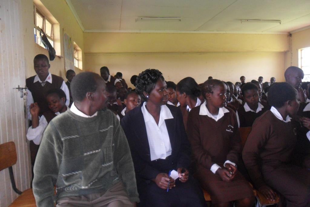 The Water Project : steven-cositany-sec-school-community-education-2