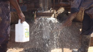 The Water Project : water-flowing-eshibinga-community-001