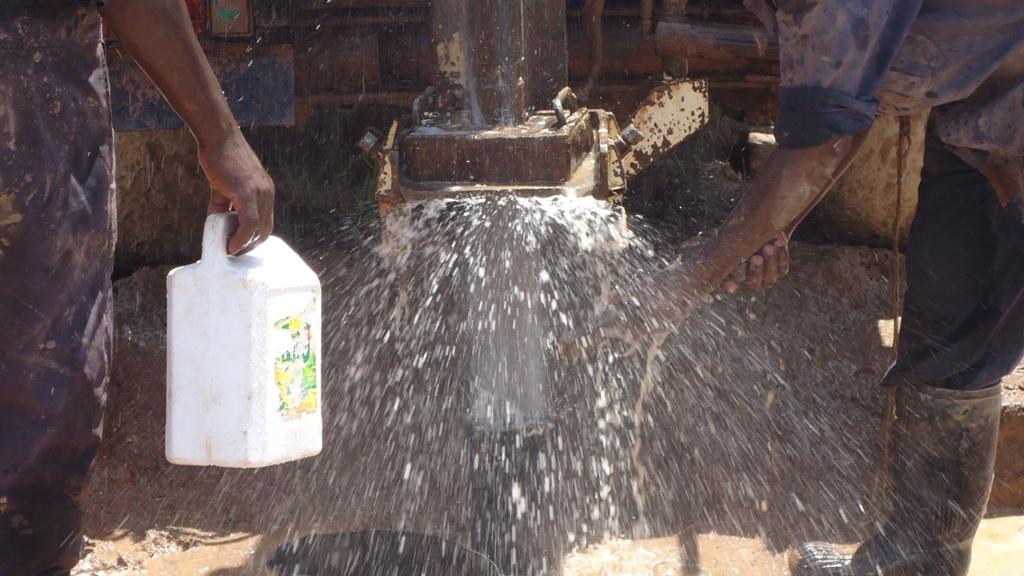 The Water Project : water-flowing-eshibinga-community-001-2
