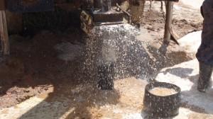 The Water Project : water-flowing-eshibinga-community