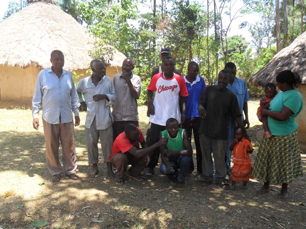 The Water Project : wazee-hukumbuka-self-help-group-2