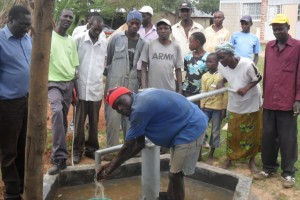 The Water Project : handing-over-chemoset-community
