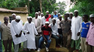 The Water Project : lusheya-men-present-for-community-education-23-sep-10-4-07-21-am