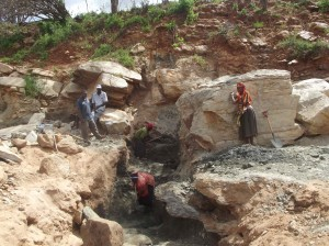 The Water Project : munyuni-sd-during-excavation-5