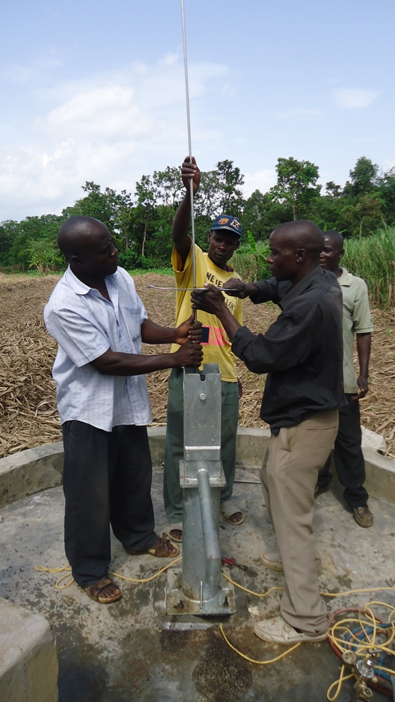 The Water Project : shihuna-community-pump-installation-003-2