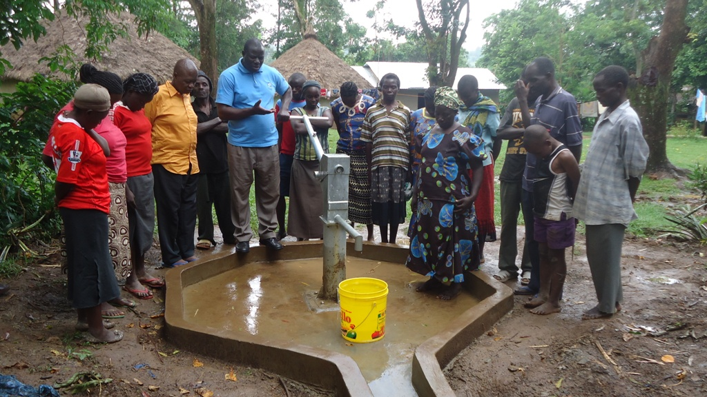 The Water Project : wazee-hukumbuka-handing-over-2