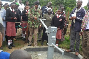 The Water Project : handing-over-surungai-community-2