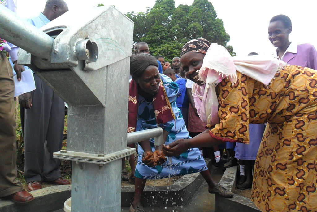 The Water Project : handing-over-surungai-community-4