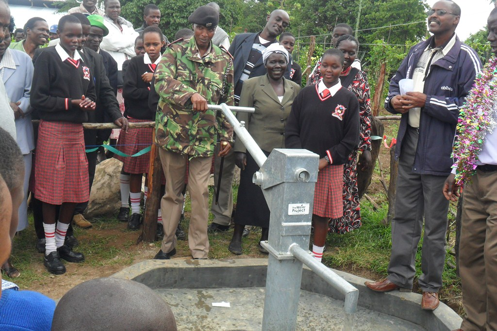 The Water Project : handing-over-surungai-community-5