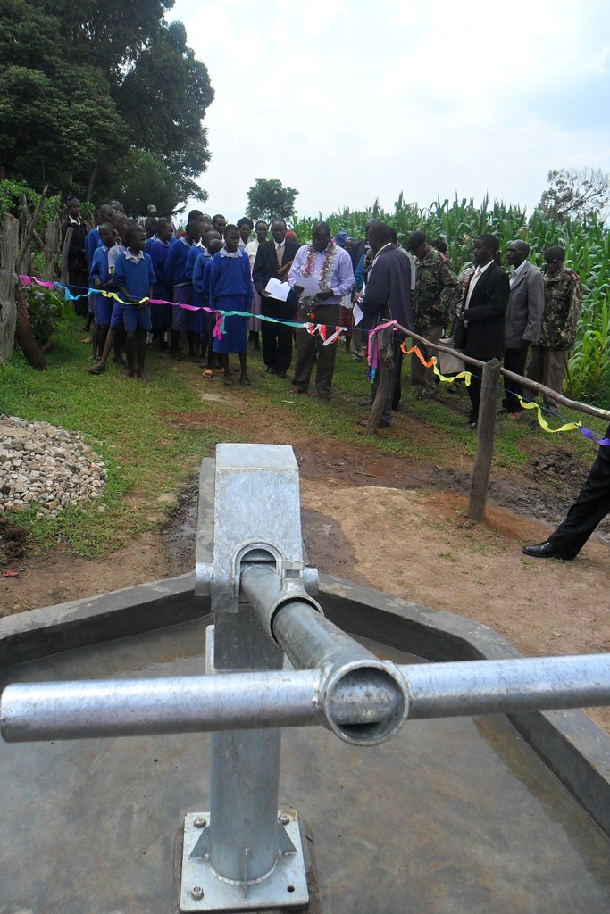 The Water Project : ready-for-handing-over-surungai-community-4