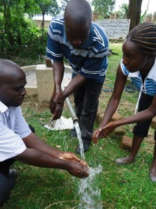 The Water Project : test-pumping-elusheya-community