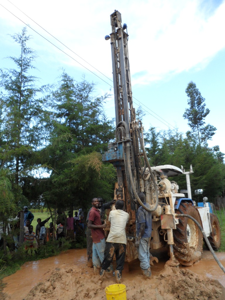 The Water Project : drilling-st-patricks-chemnoet-sec-school-2-2