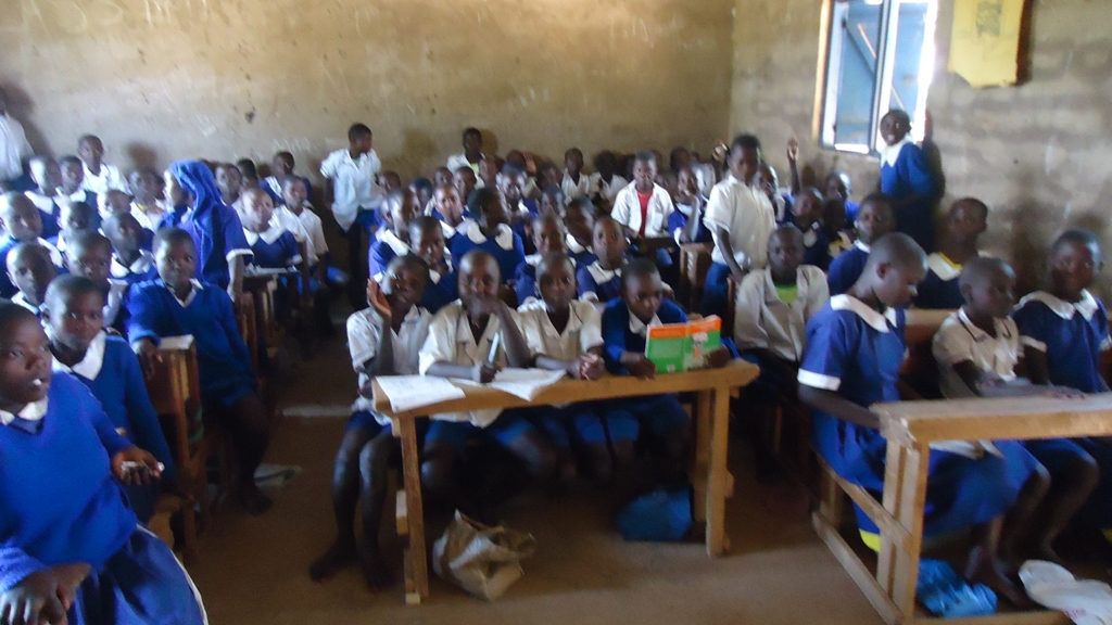 The Water Project : eshikalame-primary-school-community-education-1-3