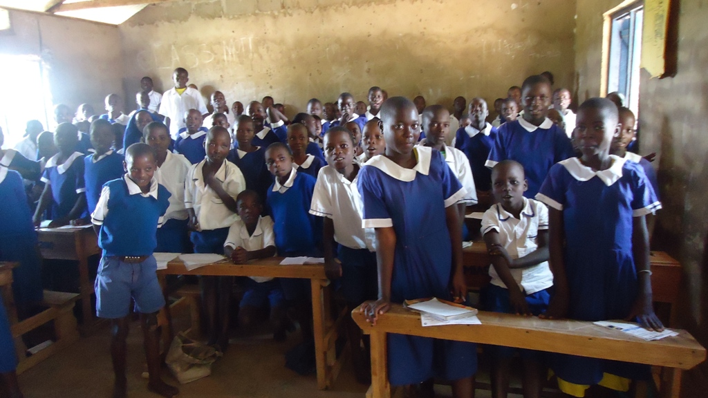 The Water Project : eshikalame-primary-school-community-education-2-2
