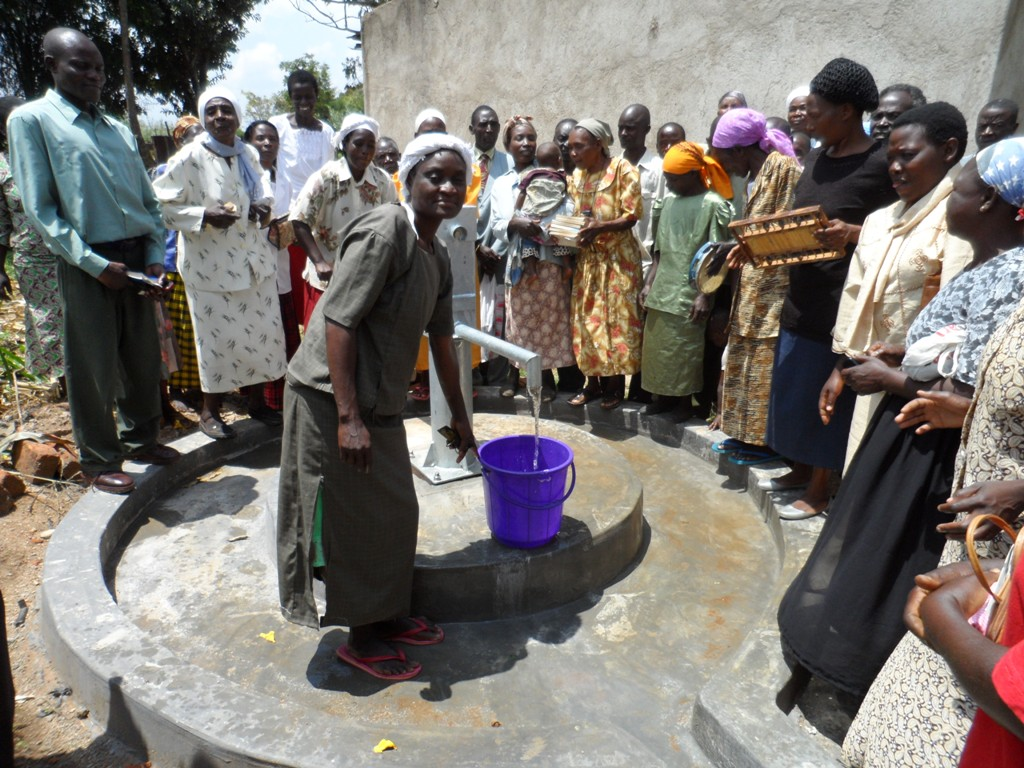 The Water Project : handing-over-a-c-k-shikalame-church-3