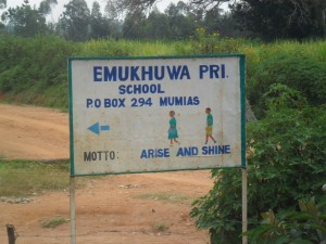 The Water Project : emukhuwa-primary-entrance