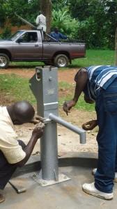 The Water Project : pump-installation-lureko-jamia-mosque-1