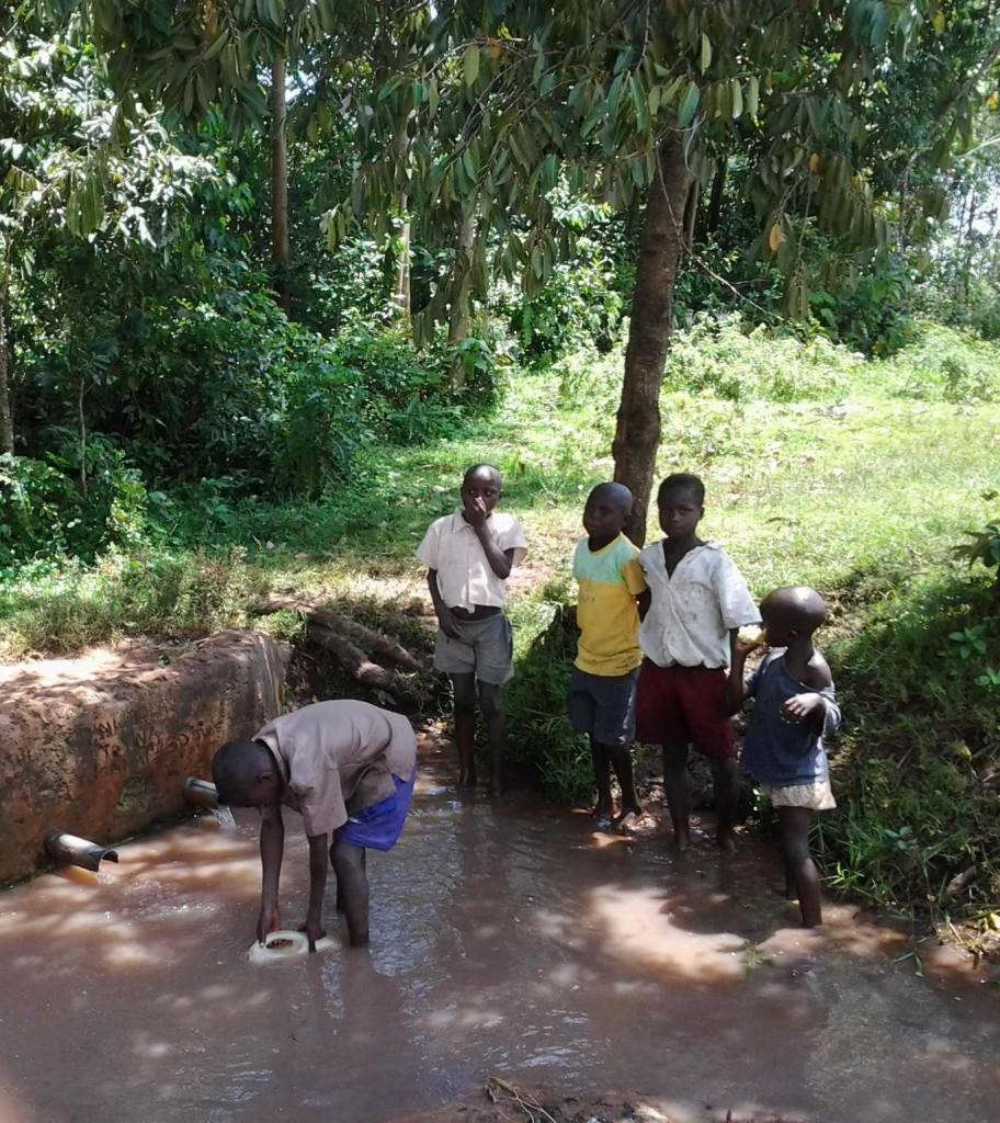 Photo of Kutosi Kimakwa Spring Catchment Project